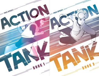 ActionTank_SeriesCovers_by_MikeBarry